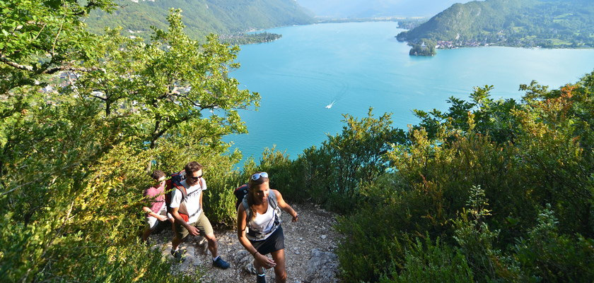 Hiking, Lake Annecy, France.jpg